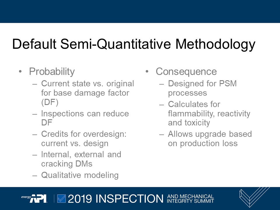 Default Semi-Quantitative Methodology
