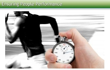 Ensuring People Performance